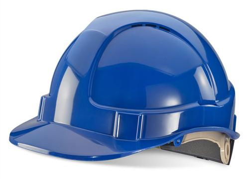 Blue Wheel Ratchet Headgear B-Brand Safety Helmet Bbvshrhb