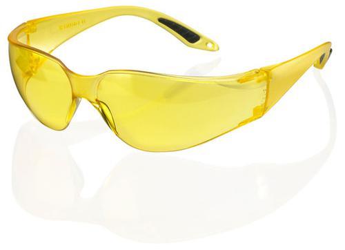 B-Brand Eyewear Range Vegas Safety Spec Yellow Len s Pk 10 Bbvss2Y