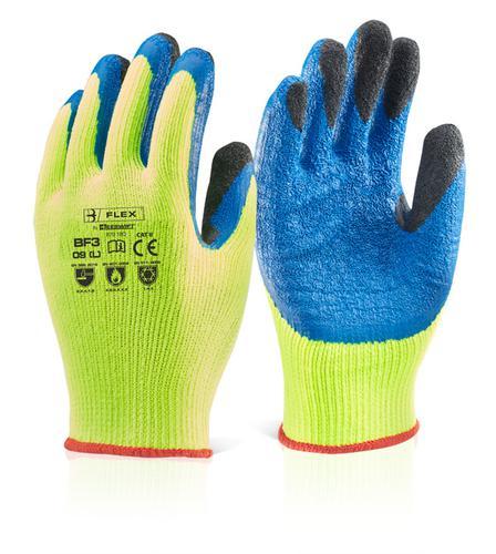 Click 2000 Glove Range Latex Thermo-Star F-Dip Sy  8  Bf3Sy08