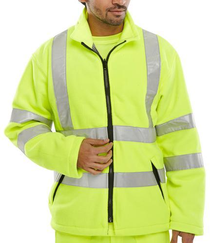 B-Seen Hv Outer Wear Carnoustie Fleece Jkt S/Y Sml   Carfsys