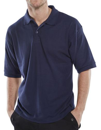 Click Leisurewear Click Pk Shirt Navy L  Clpksnl