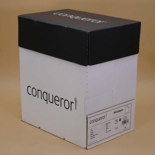 Conqueror Paper High White Laid Watermarked FSC4 A 4 210x297mm 120Gm2 Watermarked Pack 500