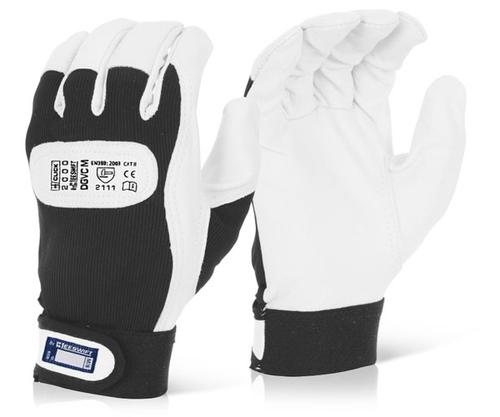 Click 2000 Glove Range Drivers Glove Velcro Cuff M ed Pk 10 Dgvcm