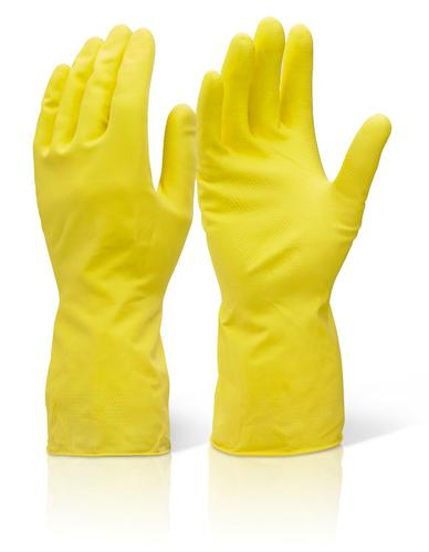 Click 2000 Rubber Gloves House Hold Mw Yellow M  H hmwm