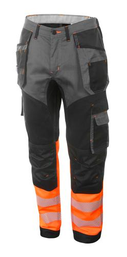 Hivis Two Tone Trousers Or/Blk 42 Hvtt080Orbl42