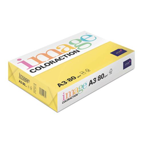 Image Coloraction Deep Yellow Canary FSC Mix Credi t A3 297x420mm 80Gm2 Pack 500