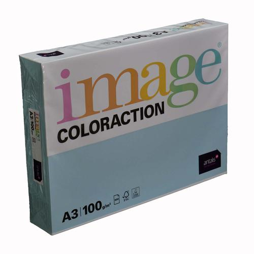 Image Coloraction Iceberg FSC Mix Credit A3 297x42 0mm 100Gm2 Icy Blue Pack of 500