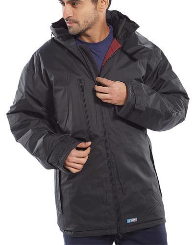 B-Dri Weather-Proof - Mercury Jacket Black Large