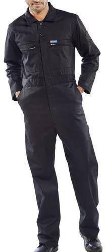 Poly-Cotton Workwear - Super Click Pc B/Suit Blk 4 0