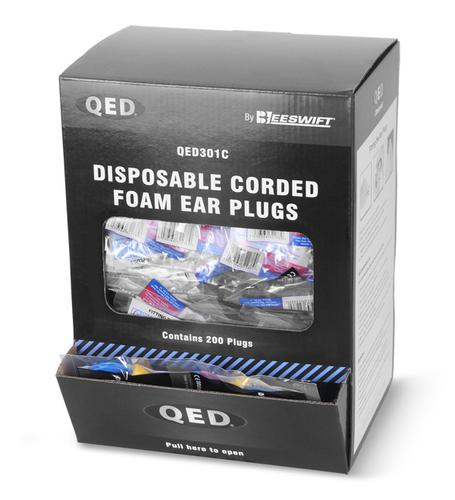 Qed Range - Qed Corded Ear Plug Pk200