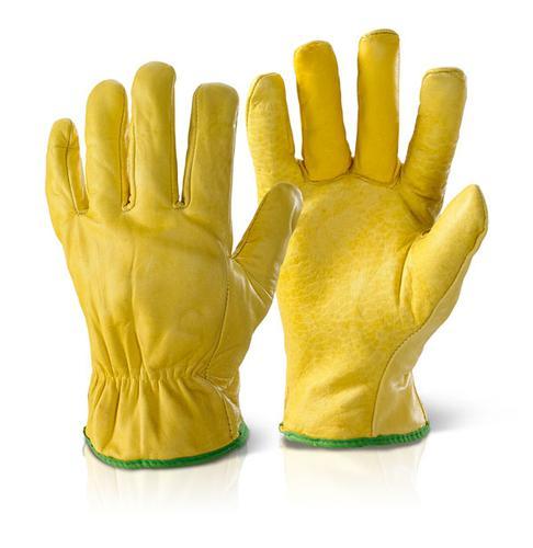 Click 2000 Glove Range - Lined Drivers Glove Large  Pk10