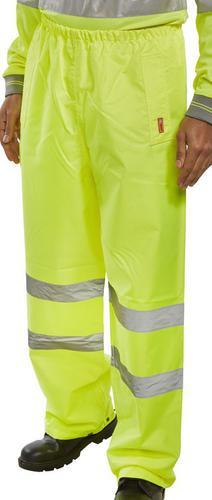 Sat/Yellow 4Xl - Bseen Trousers En Iso20471