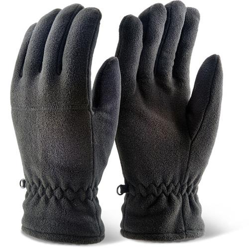 Click 2000 Glove Range - Thinsulate Fleece Glove B lack Pk10