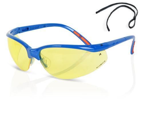 B-Brand Eyewear Range - Yellow Lens Safety Spectac le