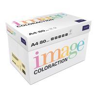 Image Coloraction FSC4 Pale Yellow (Desert) FSC4 A4 210X297mm 80Gm2 Pack 500