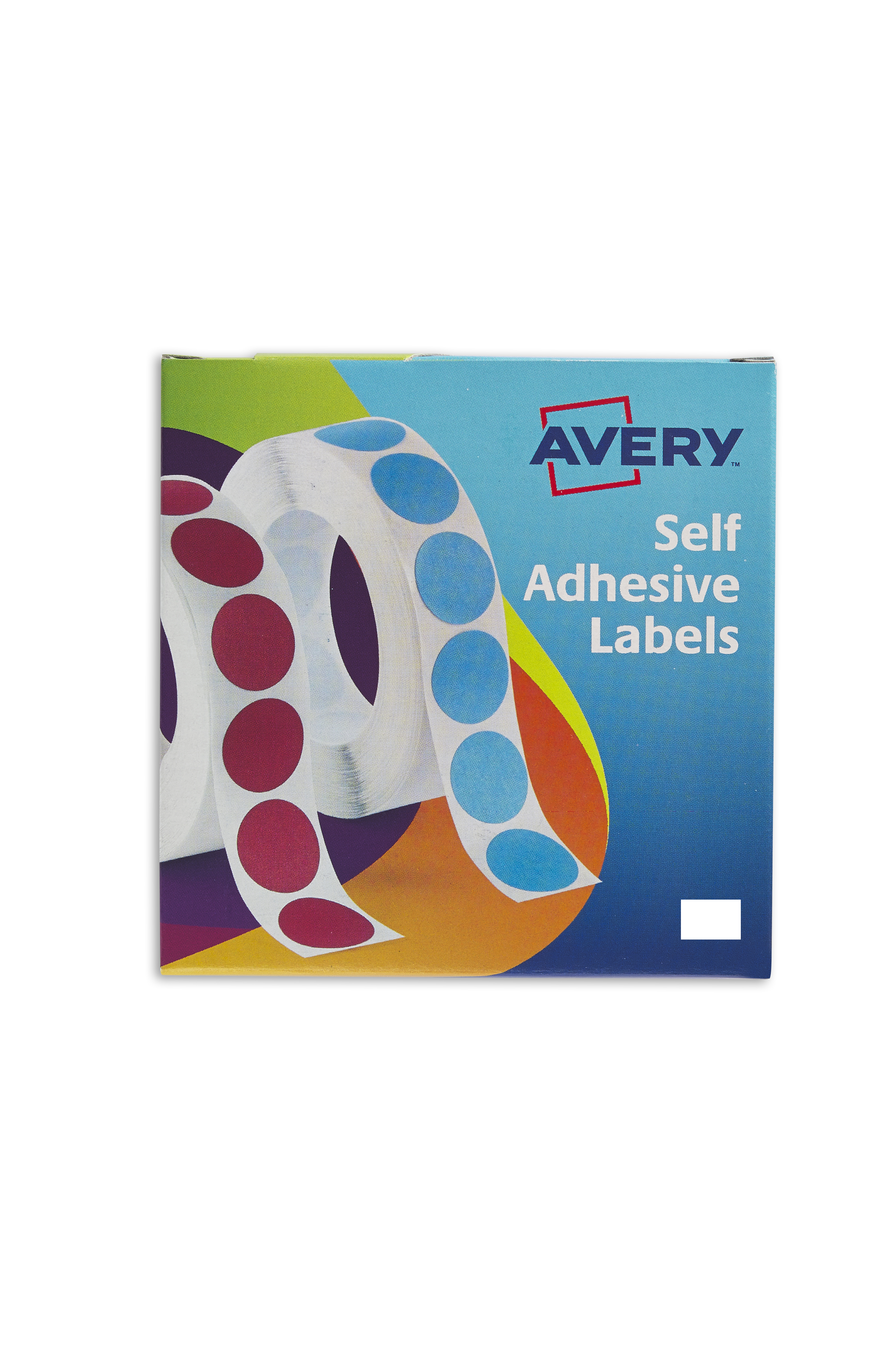 Avery 12x18mm WH Labels in Disp PK2000