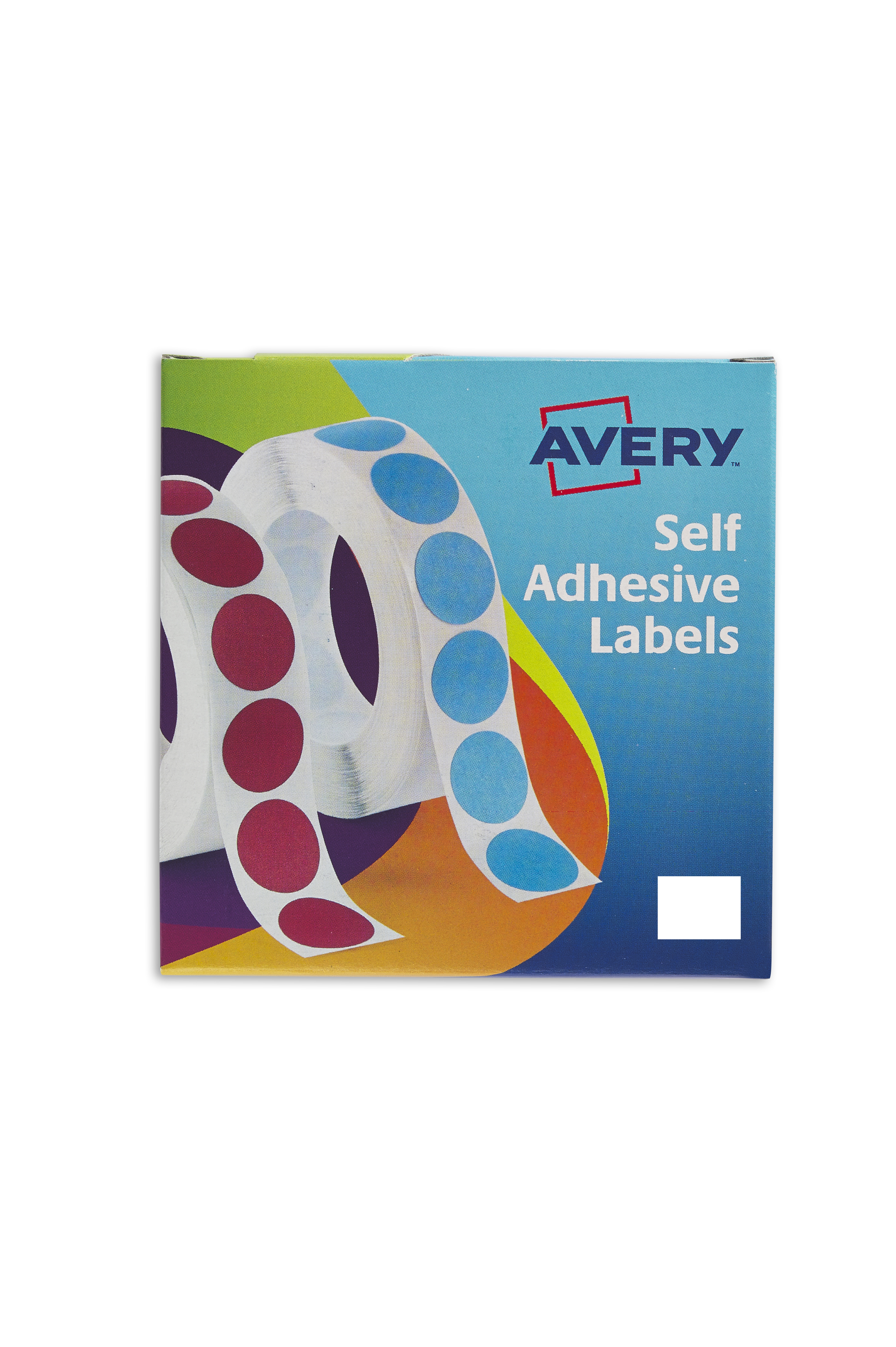 Avery 19x25mm WH Labels in Disp PK1200