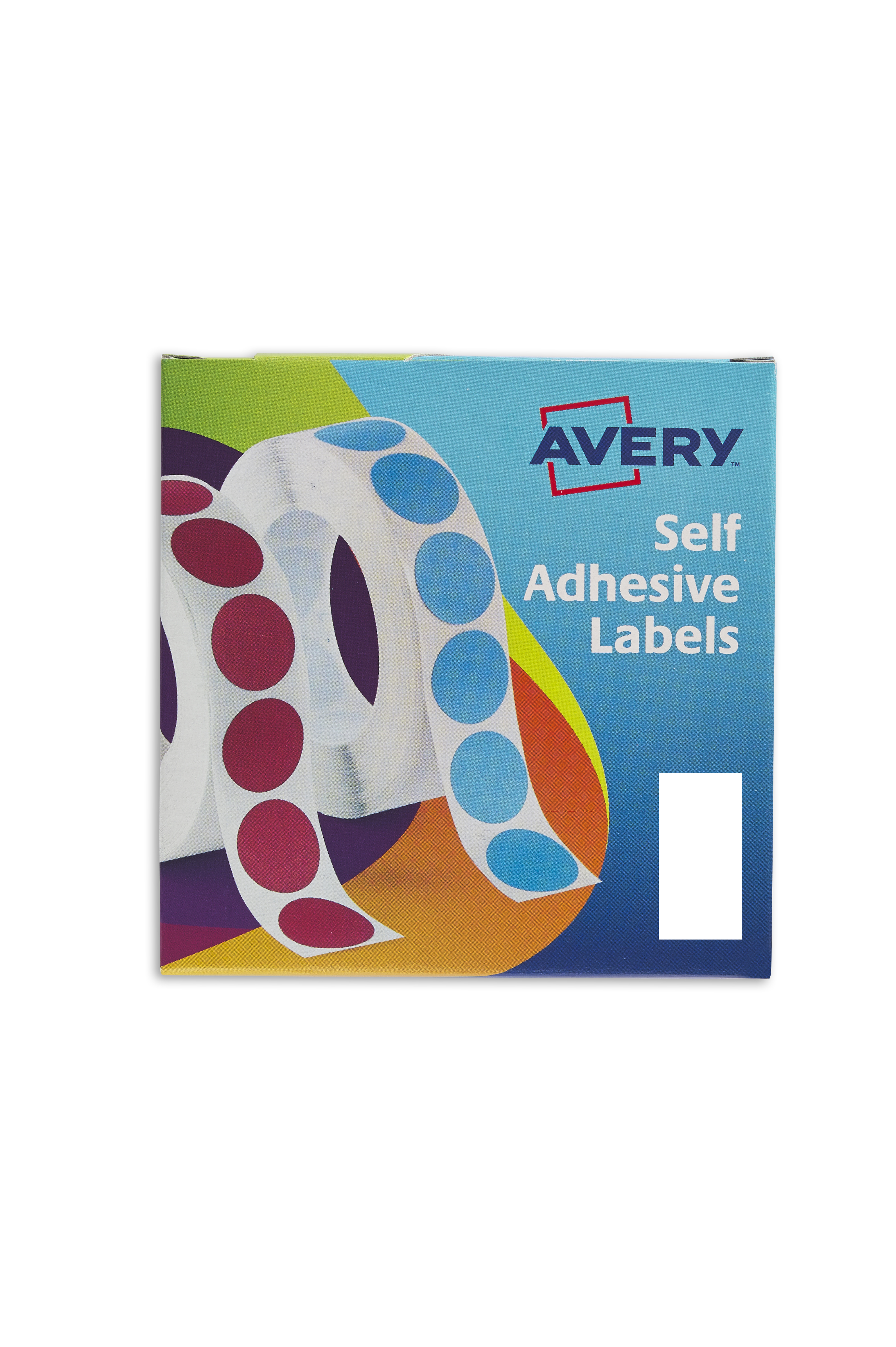 Coloured Labels Avery Labels in Dispensers 25x50mm White 24-426 (400 Labels)