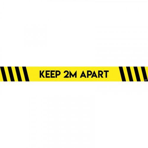 Avery Covid19 Social Distance Floor Sticker 1000x140mm Pk2