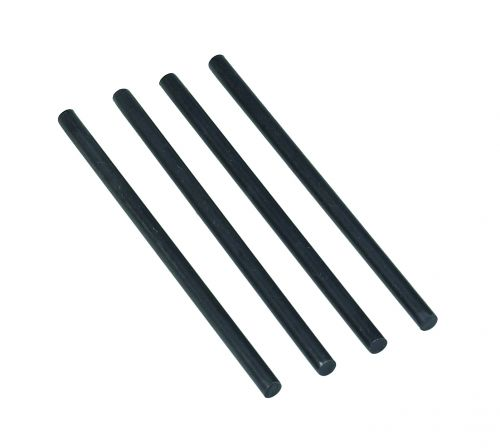 Avery DTR Risers Metal for All Avery Trays 118mm Black Ref 404B-118 [Pack 4]