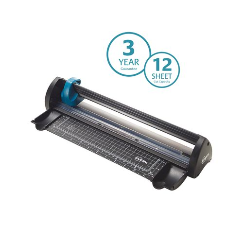 Avery Compact Trimmer A4 Cutting Length 300mm Black/Teal