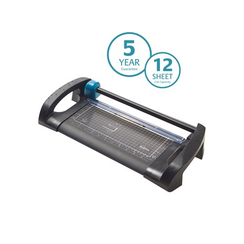Avery Office Trimmer A4 Cutting Length 310mm Black/Teal A4TR