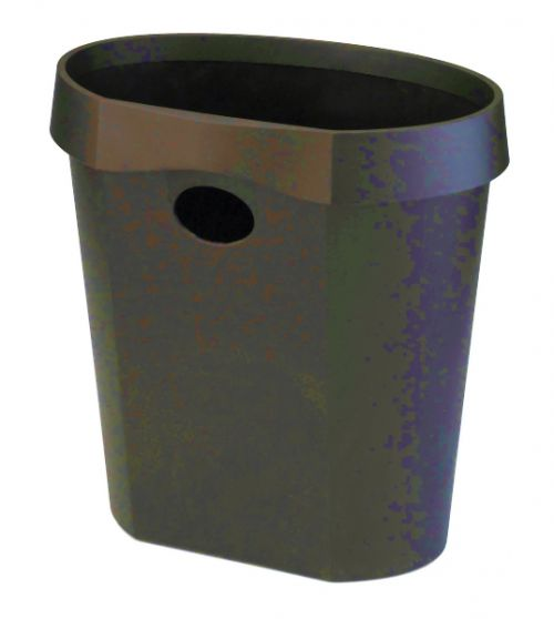 Avery 18 Litre Black Waste Bin DR500