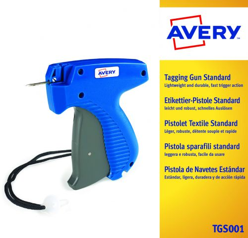 Image for Avery Dennison Tagging Gun Standard Mark 3 Compatible with 50/100 Clip Fasteners 01031