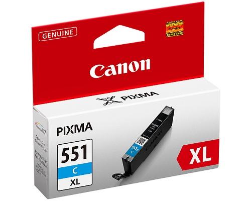 Canon Ink Cartridge Cyan CLI-551XL C