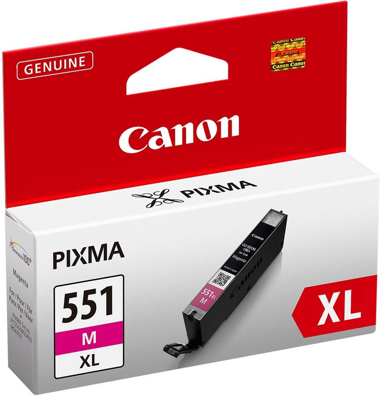 Canon Ink Cartridge Magenta CLI-551XL M