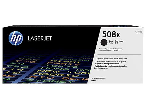 HP 508X Black LaserJet High Yield Toner Cartridge CF360X