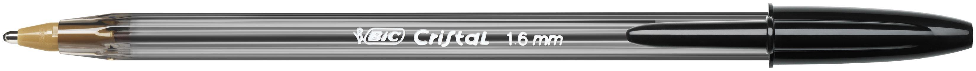 Pack of 50 Bic Cristal Large Ballpoint Pen 1.6mm Blue 880656