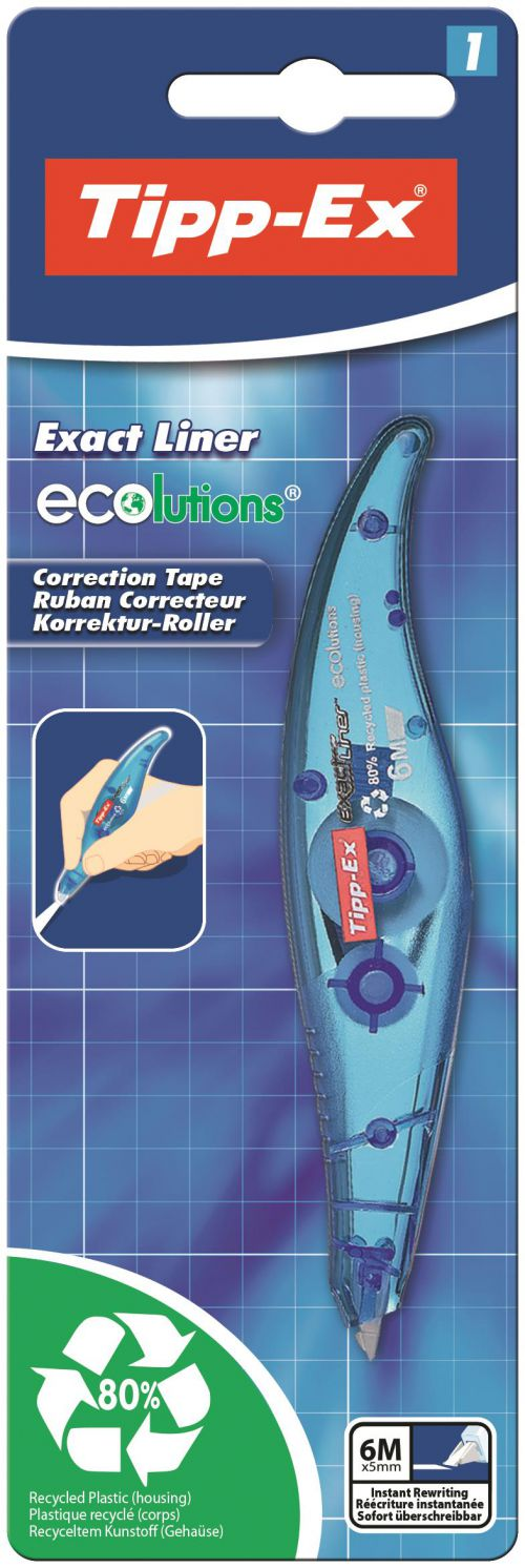 Tipp-Ex Exact Liner Ecolutions Correction Roller 810473