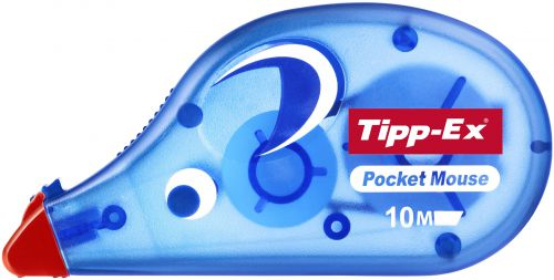 Tipp-Ex Pocket Mouse Correction Tape Roller Disposable 4.2mmx9m Ref 8207891  NSW1