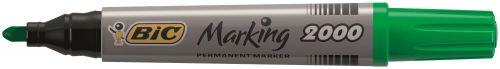 Bic Marking 2000 Permanent Marker Bullet Tip Line Width 1.7mm Assorted Ref 820911 [Pack 4]