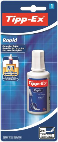 Tipp-Ex Rapid Correction Fluid 20ml 8871592