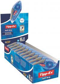 Tipp-Ex Soft Grip Correction Tape Roller (Pack 10)