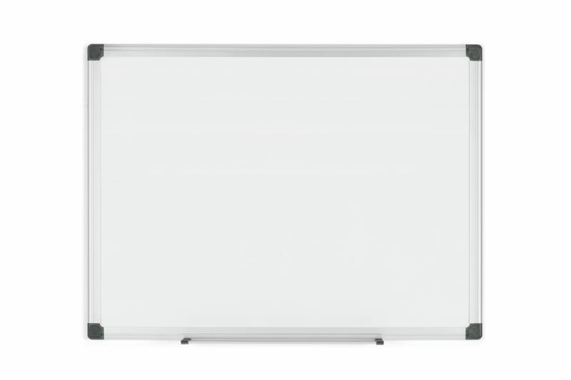 Magnetic Bi-Office Maya Magnetic Enamel Whiteboard Aluminium Frame 600x450mm