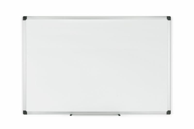Magnetic Bi-Office Maya Magnetic Enamel Whiteboard Aluminium Frame 900x600mm