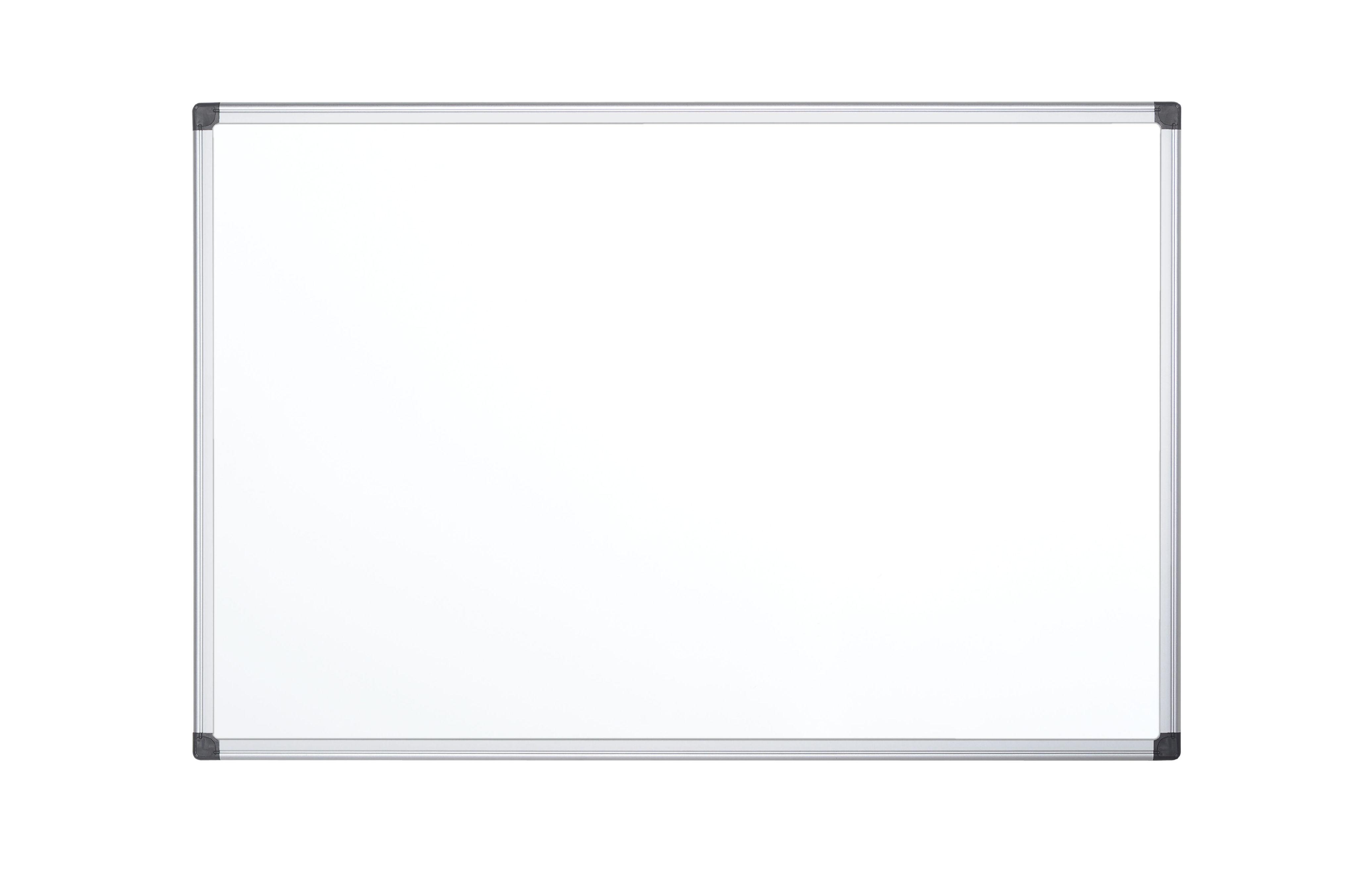 Magnetic Bi-Office Maya Magnetic Enamel Whiteboard Aluminium Frame 1500x1000mm