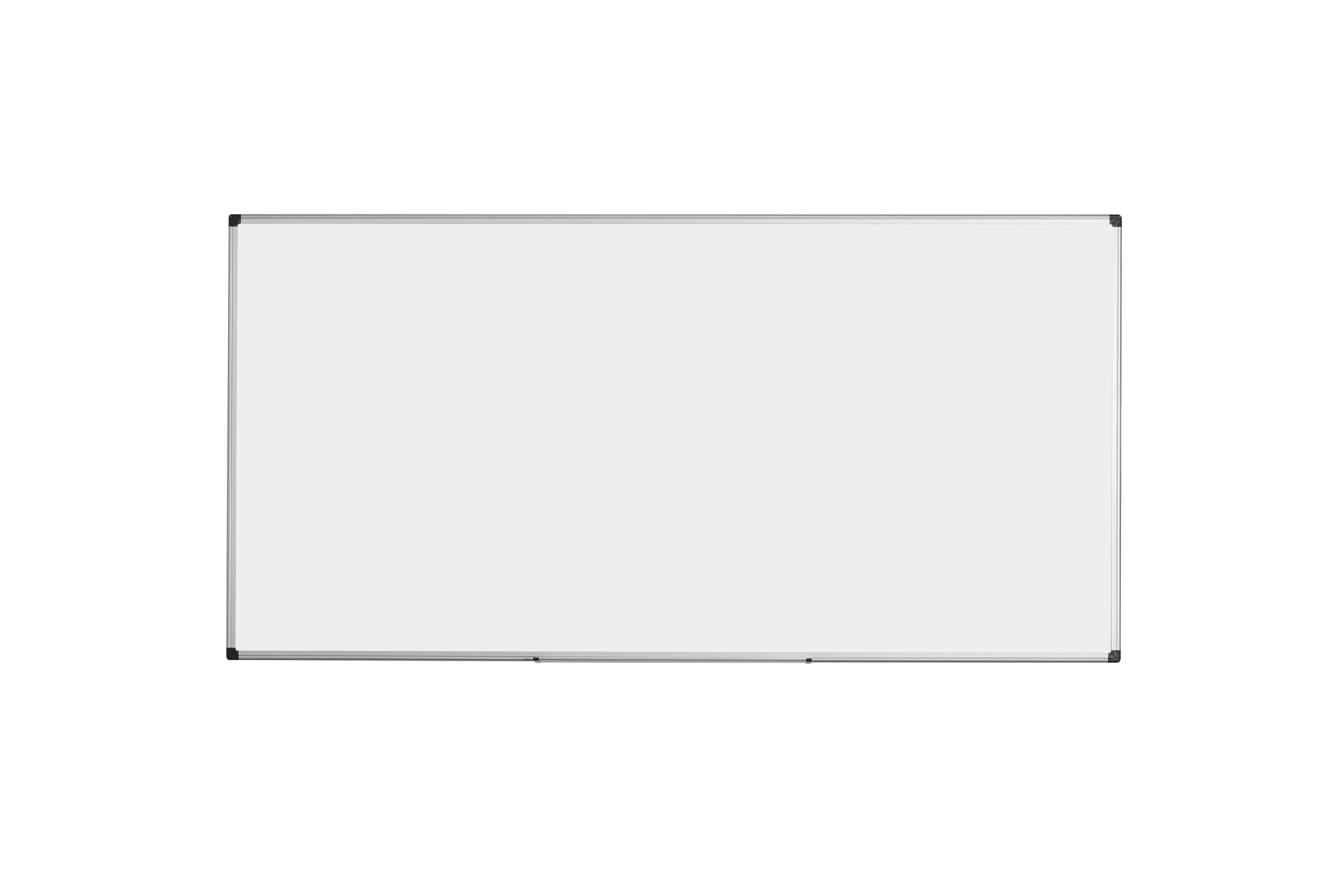 Bi-Office Vitreous Enamel Steel Drywipe  180x90 Ali Frame