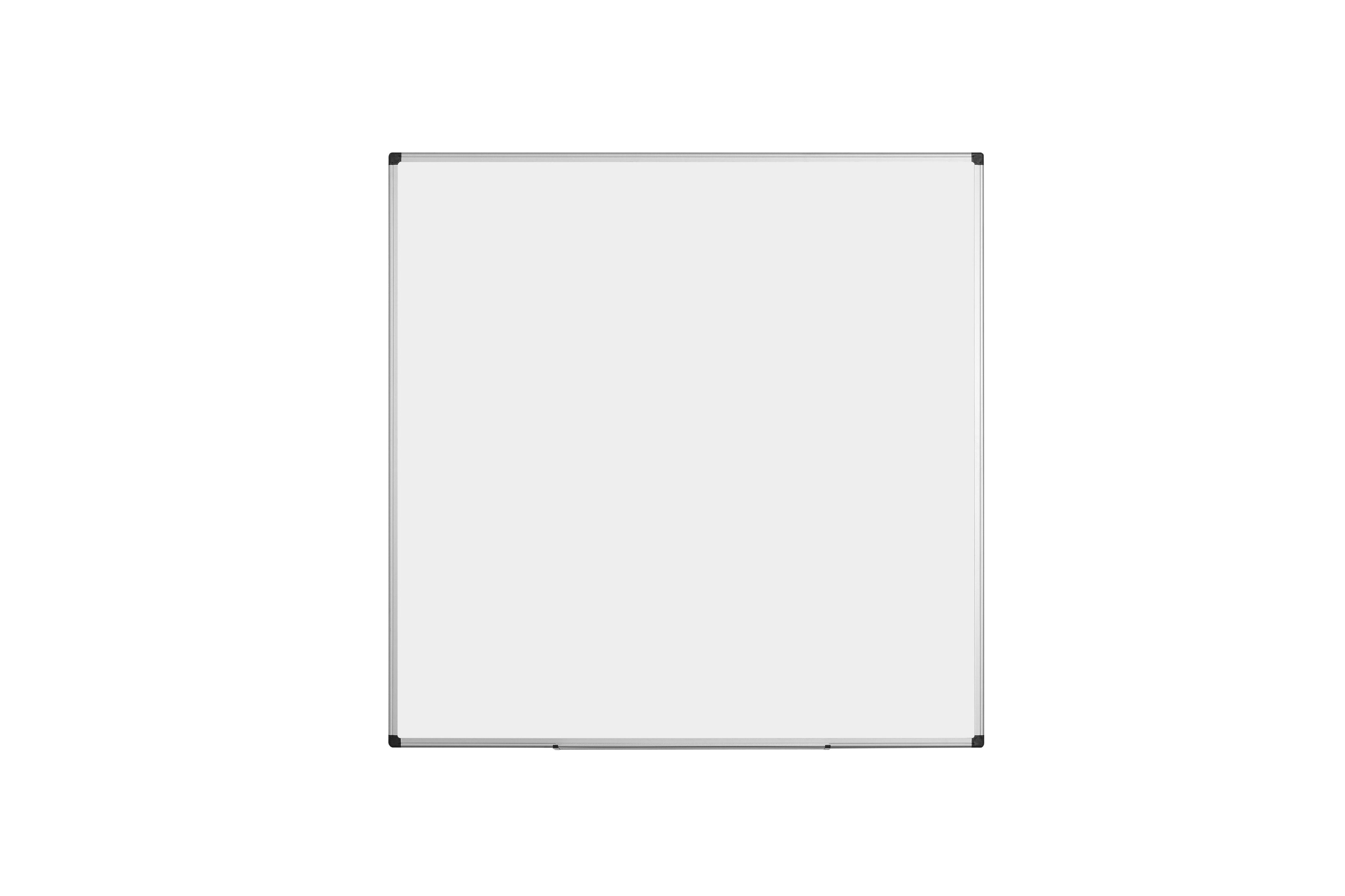 Magnetic Bi-Office Maya Enamel Aluminium Framed Wtbrd 120x120cm