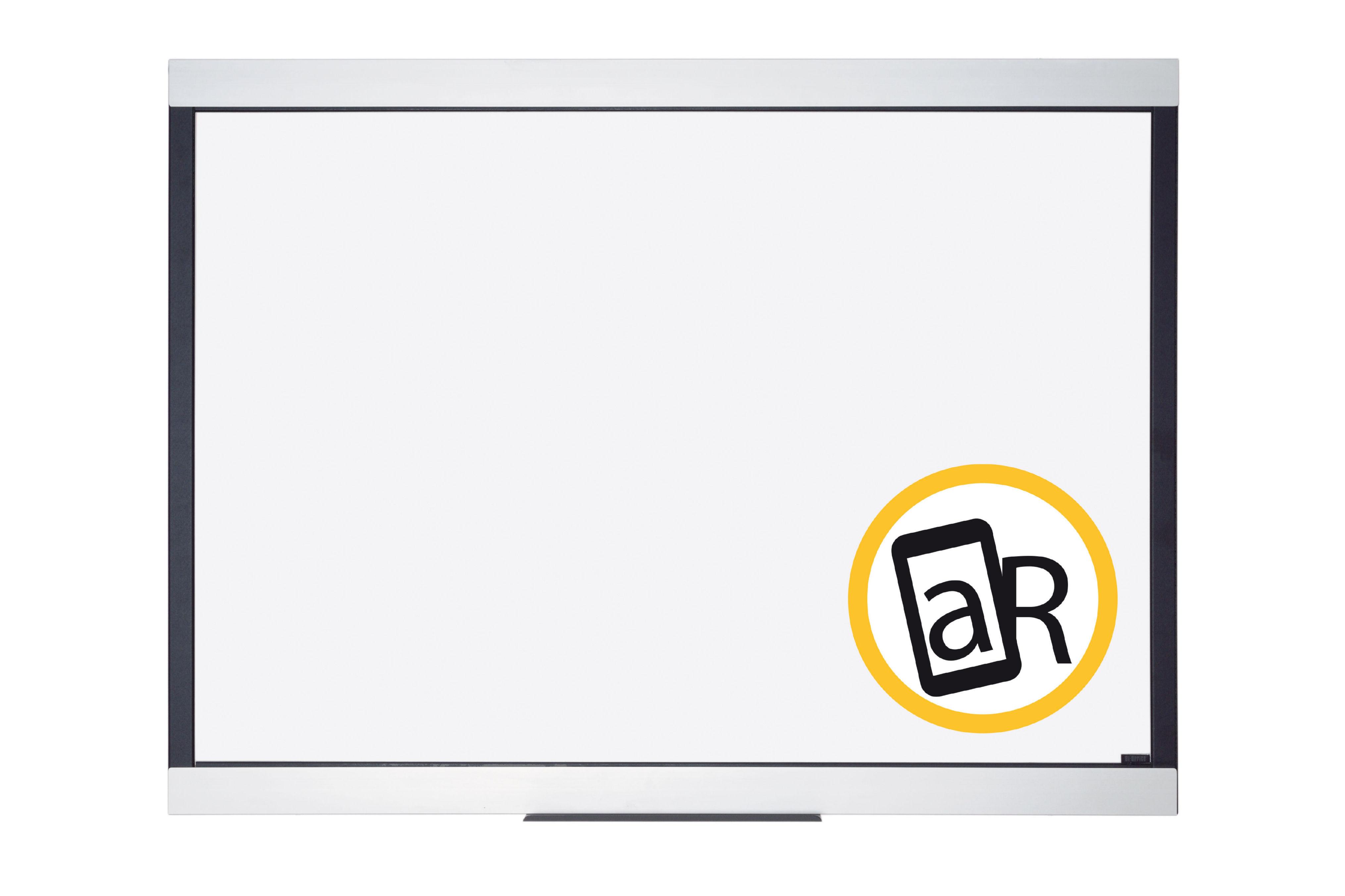 Magnetic Bi-Office Expression Premium Magnetic Ceramic Whiteboard Aluminium Frame 900x600mm