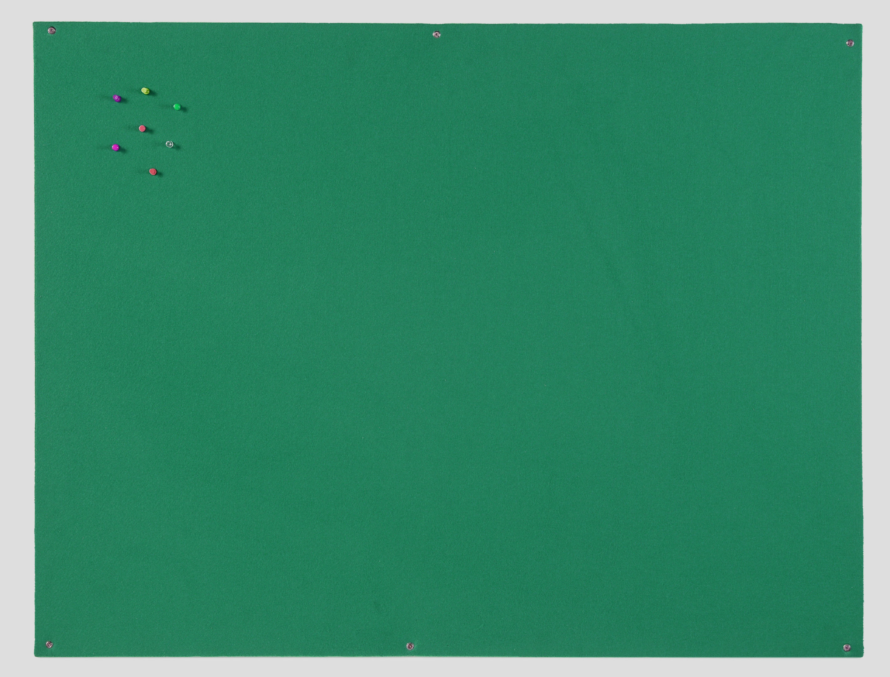 Felt Bi-Office Green Felt Noticeboard Unframed 900x600mm