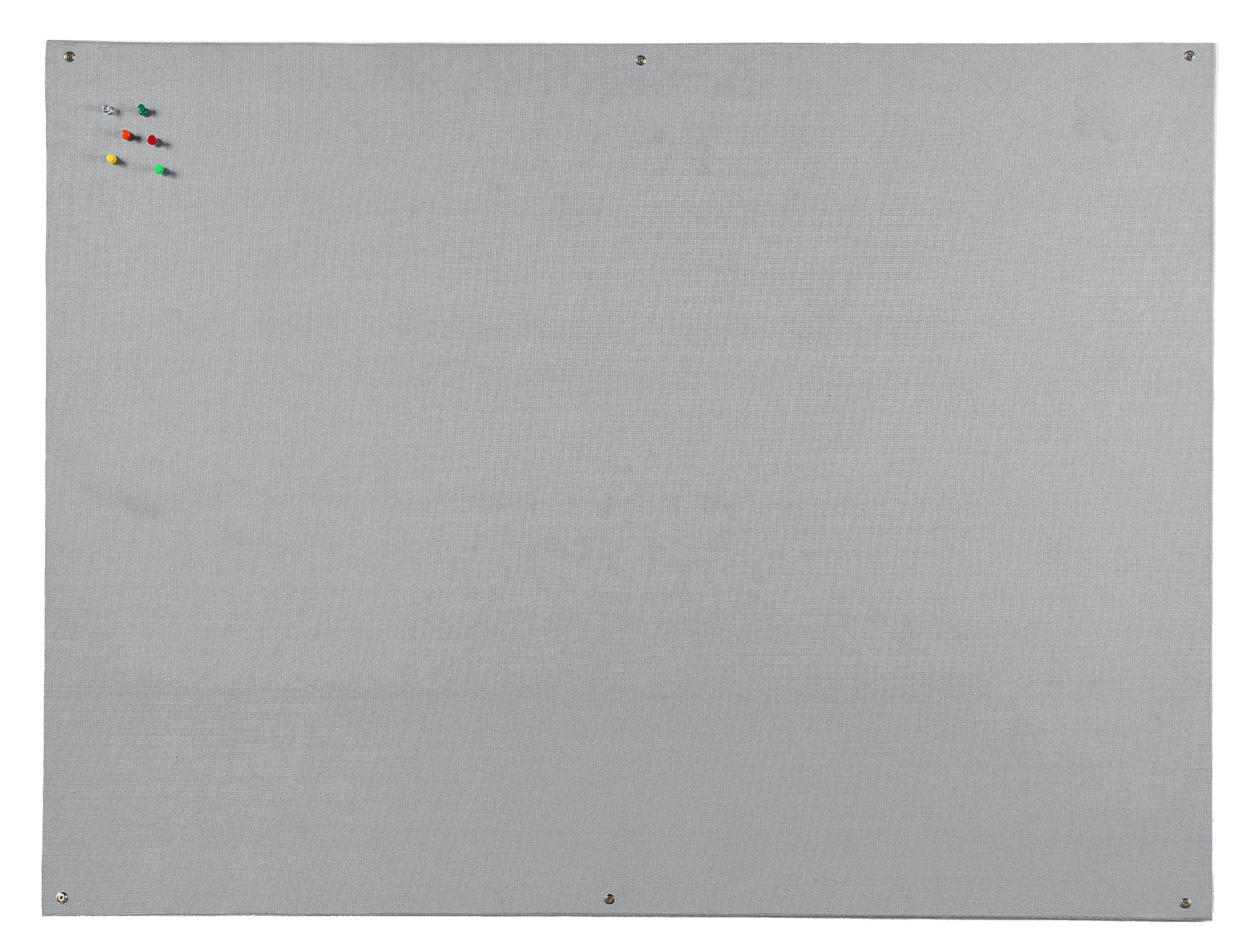 Felt Bi-Office Grey Felt Noticeboard Unframed 1200x900mm