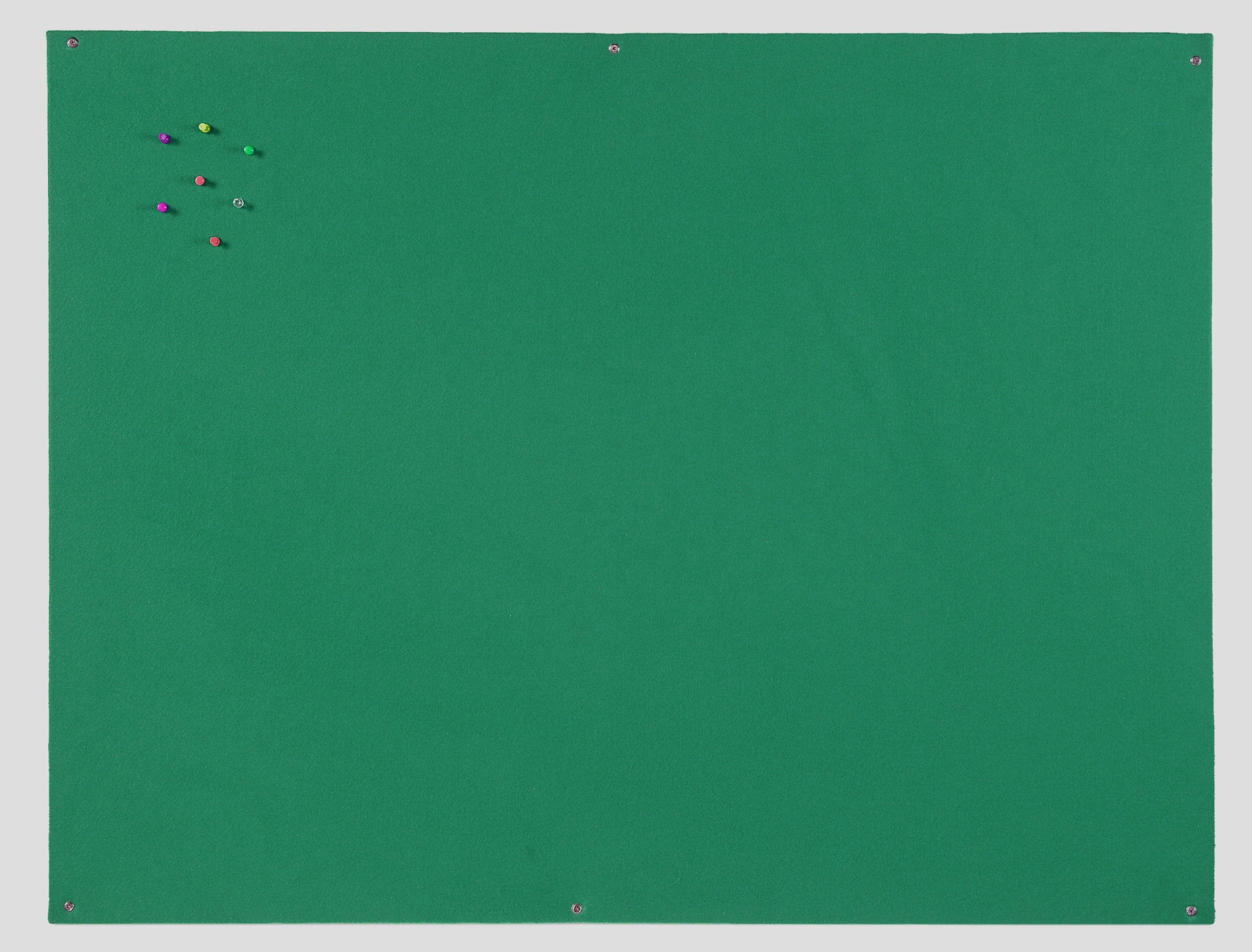 Felt Bi-Office Green Felt Noticeboard Unframed 1200x900mm