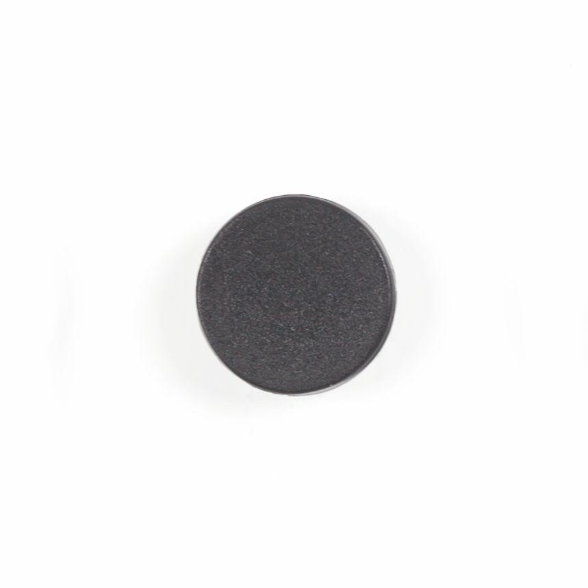 Bi-Office 10 Magnets 20mm Black