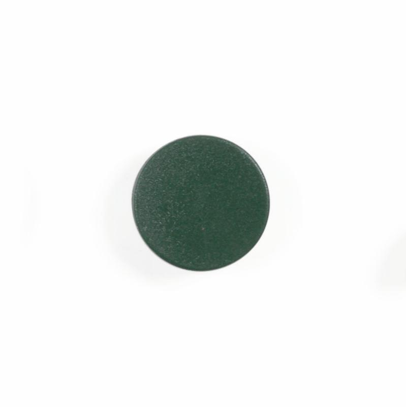 Magnets Bi-Office Round Magnets 10mm Green (Pack 10)