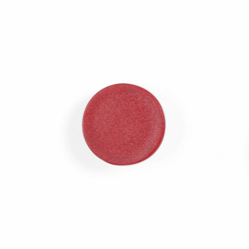 Magnets Bi-Office Round Magnets 10mm Red (Pack 10)
