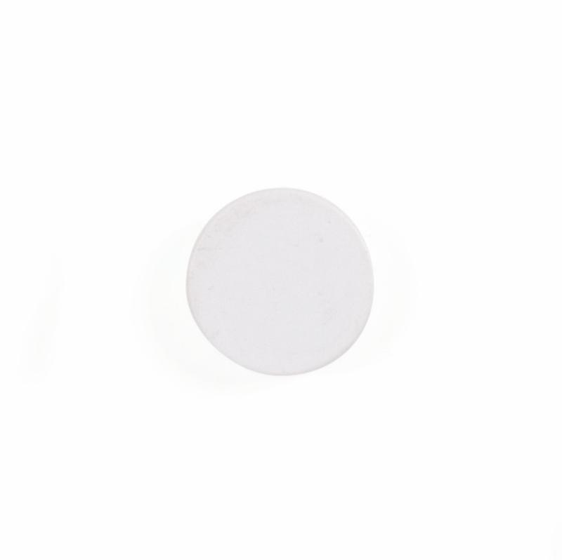 Magnets Bi-Office Round Magnets 10mm White (Pack 10)